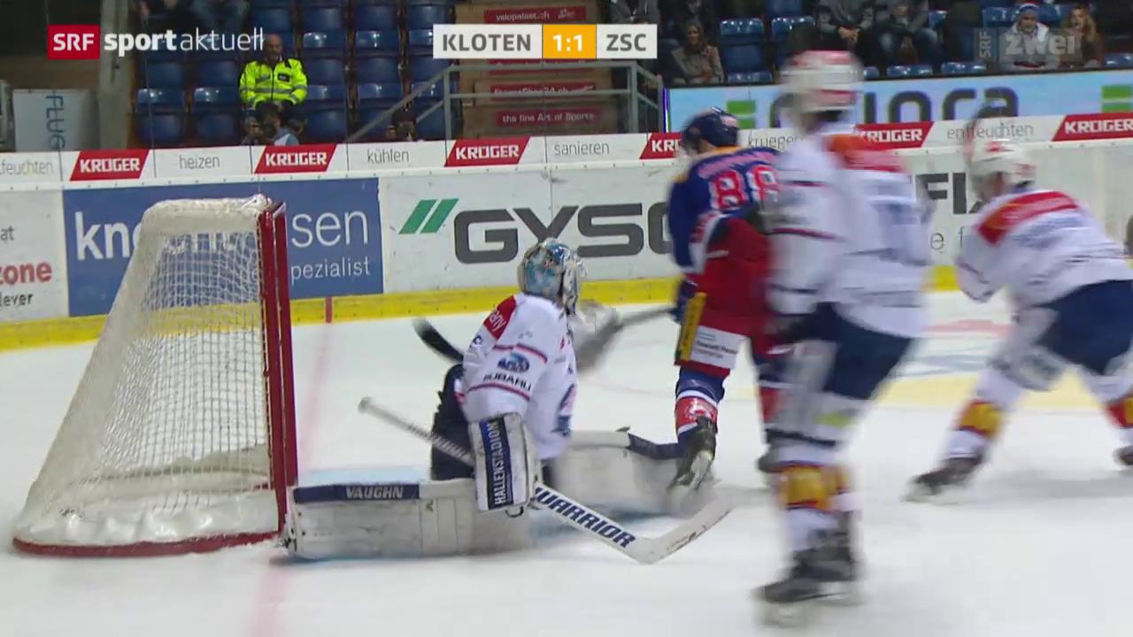Eishockey: Kloten Flyers - ZSC Lions