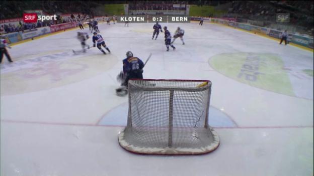 Video «Eishockey: Daniel Rubins einziges Saisontor» abspielen