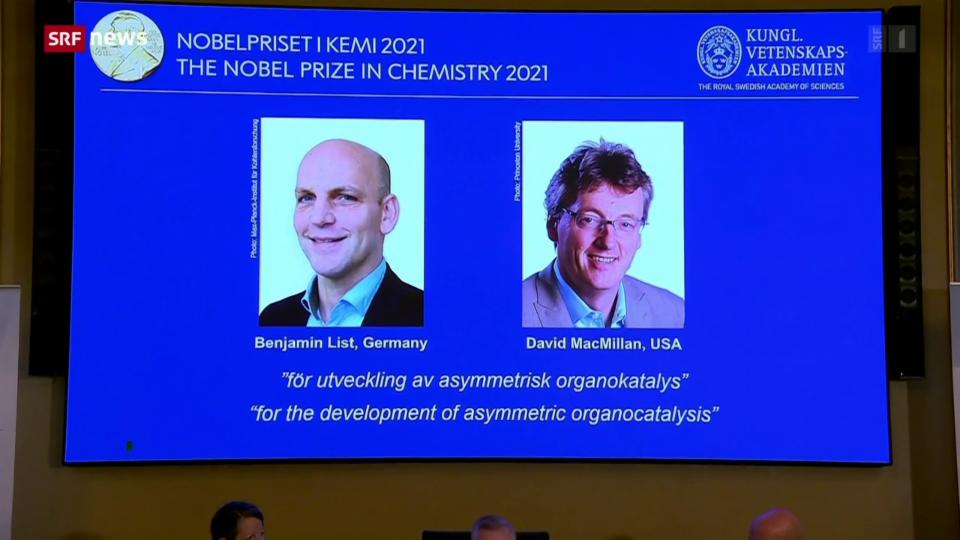 Chemie-Nobelpreis für deutschen und amerikanischen Molekül-Bauer