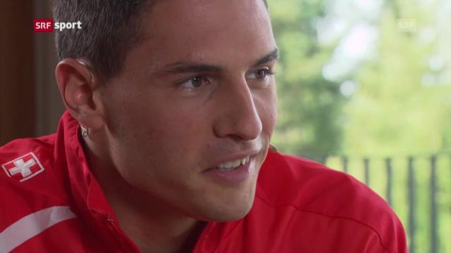 Fabian Schär in der «sportlounge»