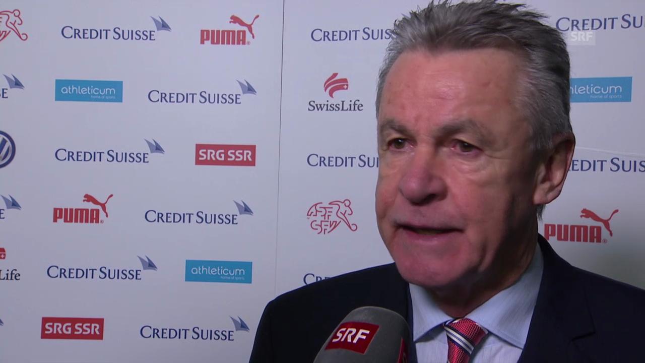 Fussball: Ottmar Hitzfeld im Interview