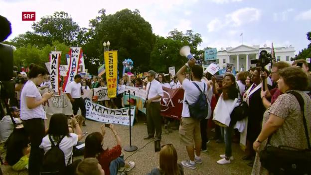 Video «Trump will Schutzprogramm für junge Immigranten kippen» abspielen