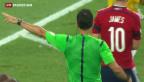 Video «Neymar raus – Zweifel an Schiedsrichter» abspielen