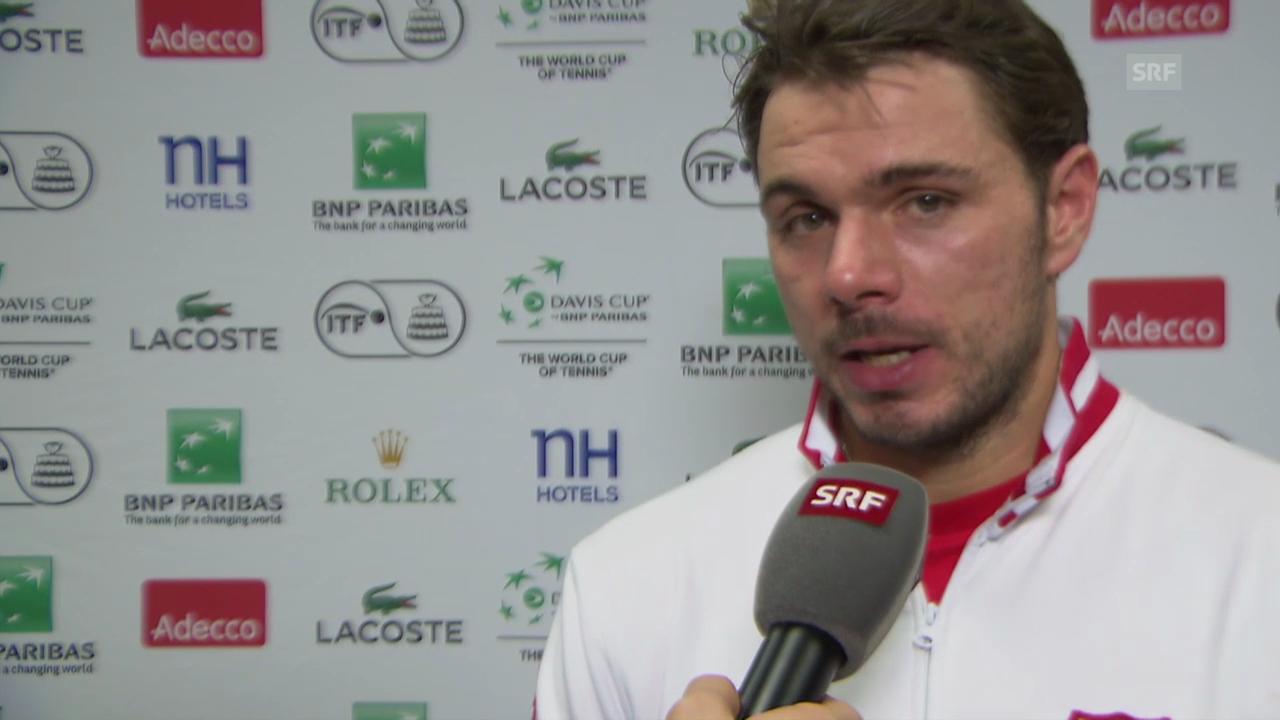 Tennis: Interview mit Stan Wawrinka (französisch)