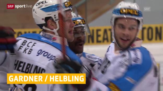 Video «Eishockey: News, Tausch Gardner/Helbling» abspielen