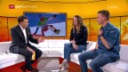 Video «Studiogäste: Patrizia Kummer und Nevin Galmarini» abspielen