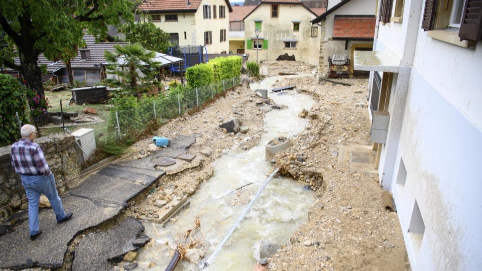 Cressier/NE am 22. Juni: Katastrophe auch in der Schweiz möglich