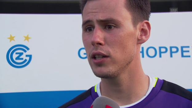 Video «GC-Keeper Lindner zum Derby gegen den FCZ» abspielen