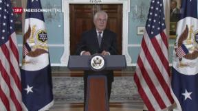Video «US-Regierung misstraut Iran» abspielen