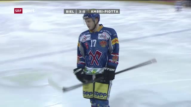 Eishockey: Biel - Ambri («sportaktuell»)