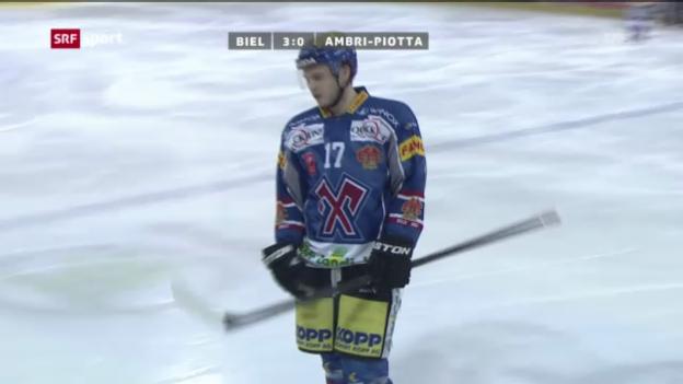 Video «Eishockey: Biel - Ambri («sportaktuell»)» abspielen