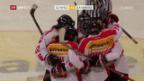 Video «Eishockey: Frauen, Olympia-Quali Dänemark - Schweiz» abspielen