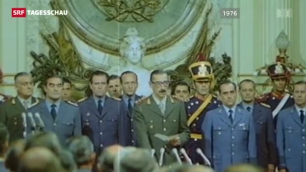 Video «Papst Franziskus' Rolle während der Militärdiktatur» abspielen