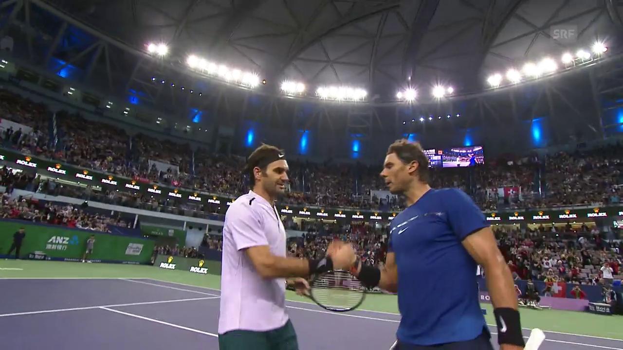 Federer schlägt Nadal im Schanghai-Final