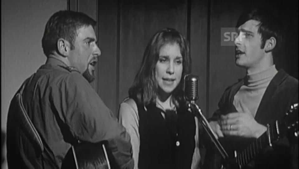 1970: Peter, Sue und Marc im Zähringer-Forum Bern