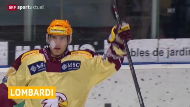 Video «Eishockey: Matthew Lombardi verlässt Genf-Servette» abspielen