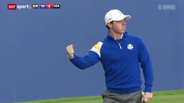 Video «Golf: Ryder Cup» abspielen
