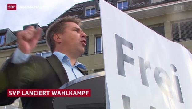 Video «SVP startet Wahlkampf» abspielen