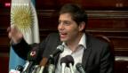 Video «Argentinien rutscht in die nächste Staatspleite» abspielen
