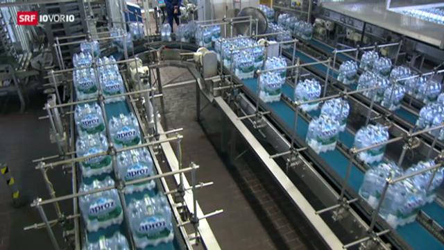 Die Wasserexporte der Schweiz
