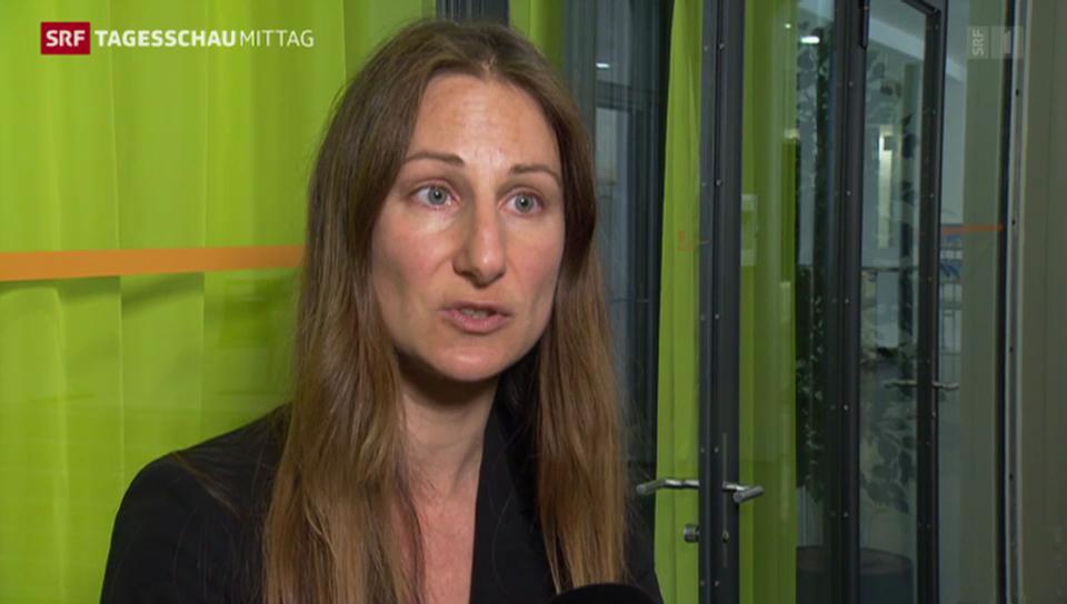 Stellungnahme Adèle Thorens, Co-Präsidentin Grünen