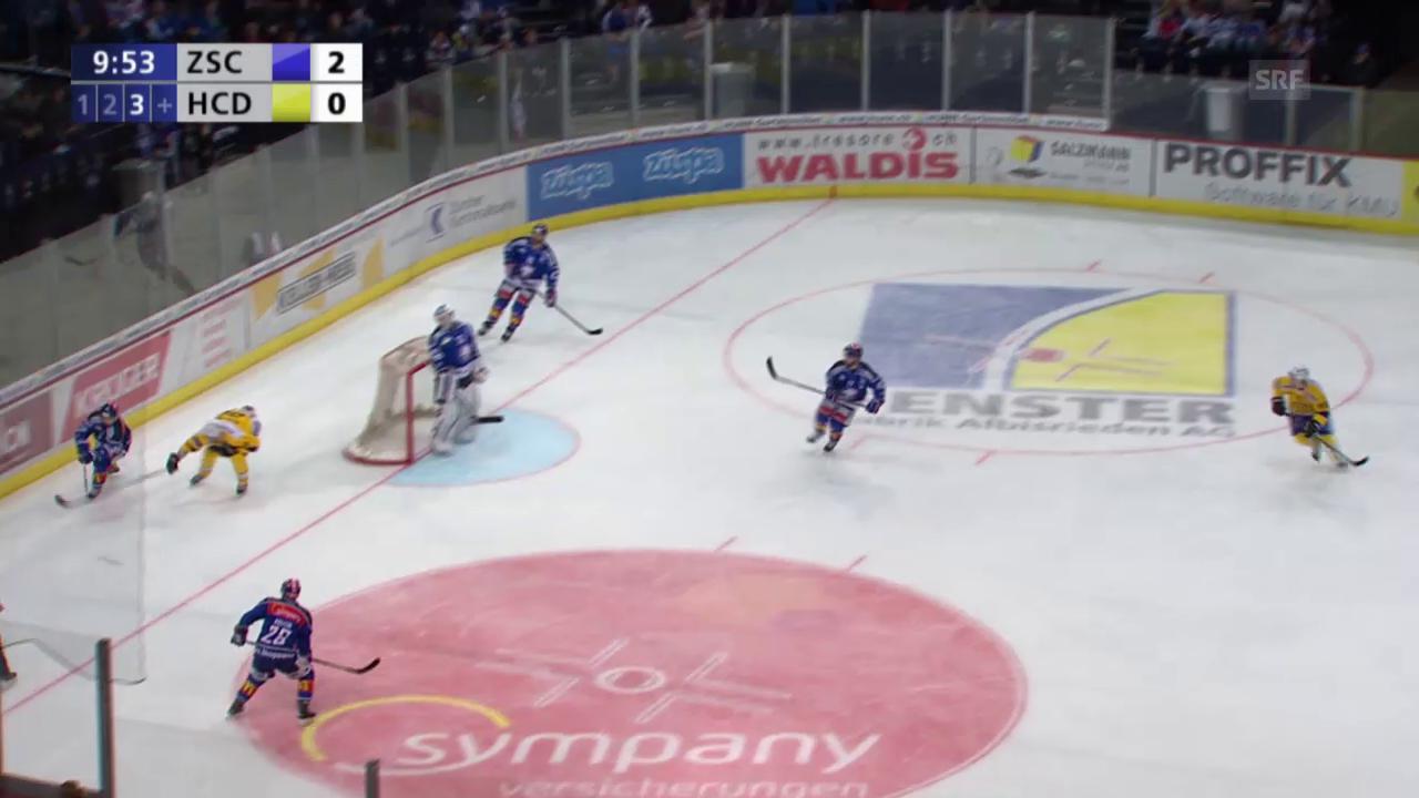 Eishockey: Playoff-Final, Spiel 1, Tor Keller