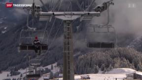Video «Bergbahnen leiden » abspielen