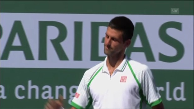 Video «Höhepunkte Djokovic - Tsonga» abspielen