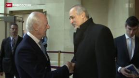 Video «Terror-Deal mit PLO wird untersucht» abspielen