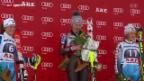 Video «Ski alpin: Slalom der Frauen in Are» abspielen