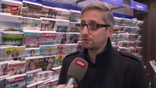 Video «Manuel Puppis zur Einstellung von «L'Hebdo»» abspielen
