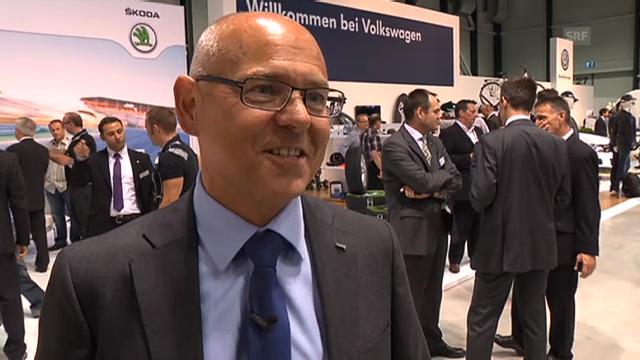 Amag-CEO Morten Hannesbo über Volkswagen
