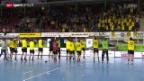 Video «Handball: Pfadi Winterthur scheitert im Playoff-Halbfinal an St. Otmar SG» abspielen