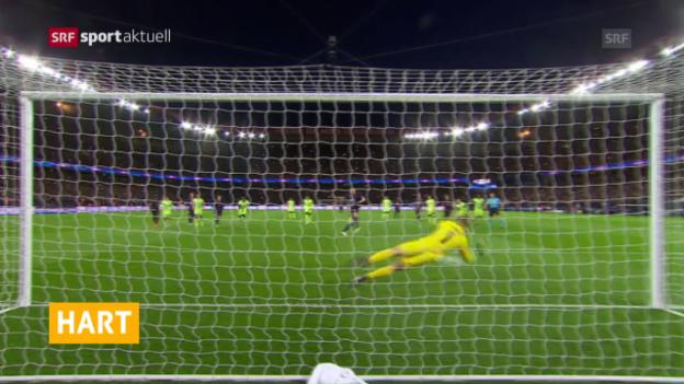 Video «Joe Hart versucht sein Glück in Italien» abspielen