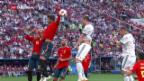 Video «Russland schlägt Spanien» abspielen