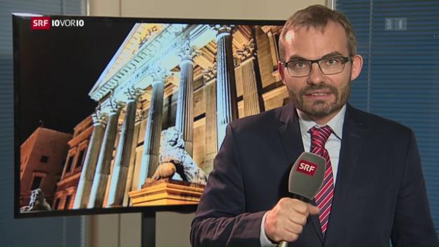 Video «Die zerstrittene Politlandschaft in Spanien» abspielen