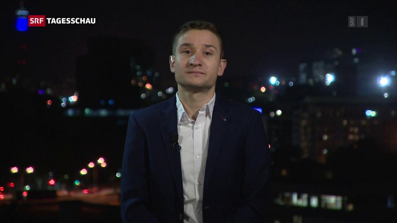 ARD-Korrespondent Heiner Hoffmann
