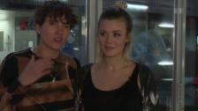 Link öffnet eine Lightbox. Video Dominique Rinderknecht und Tamy Glauser zeigen ihr Liebesglück abspielen