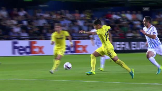Video «Patos Ausgleichstreffer gegen den FCZ» abspielen