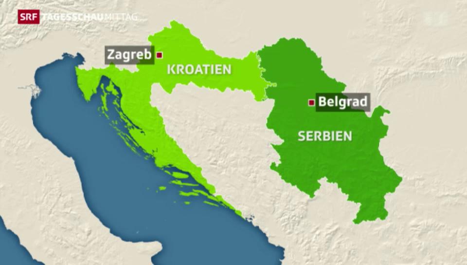 Kein Völkermord zwischen Serben und Kroaten