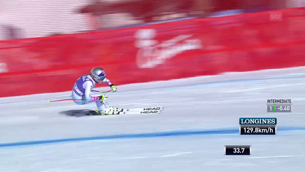 Vonn triumphiert in Cortina