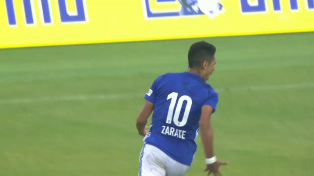 Video «Gonzalo Zarates Tor gegen St. Gallen» abspielen