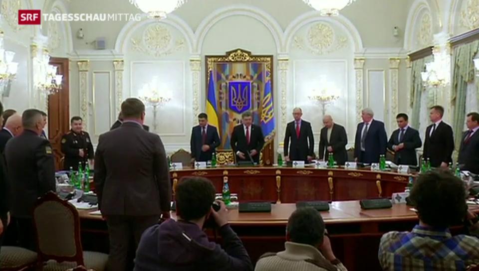 Friedenstruppen für Ukraine?