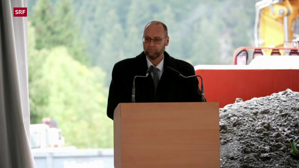 Jürg Röthlisberger: «Die Verbindung am Gotthard ist eine Schlagader der Schweiz»