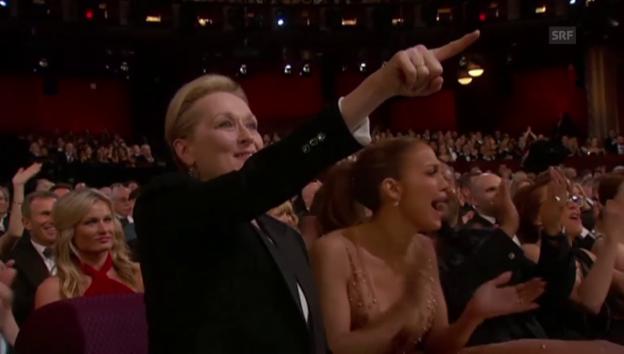Video «Politischer Zündstoff in Oscar-Reden» abspielen