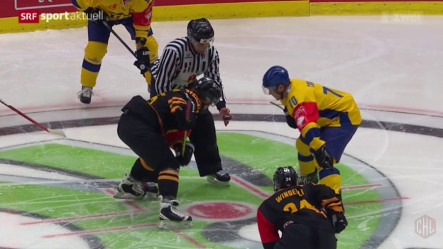 Video «Eishockey: Champions Hockey League, Davos-Skelleft» abspielen