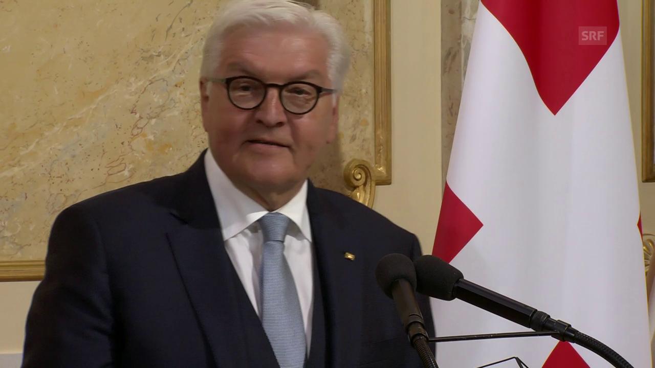 «Liebe Freunde» – Steinmeiers Rede im Bundeshaus