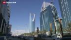 Video «Skepsis in Saudi-Arabien gegenüber Friedensgesprächen zu Syrien» abspielen