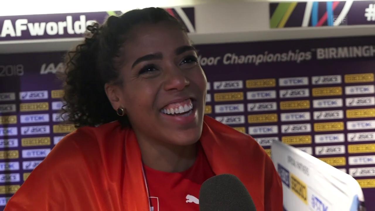 Kambundji: «Eine riesige Erleichterung» (Interview: athle.ch)