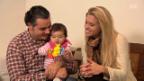Video «Monika Erb herzt ihr Töchterchen» abspielen